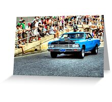 Souped Up Chevy Greeting Card
