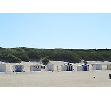 Beach houses. Photographic Print