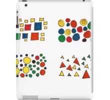 Colours and shapes iPad Case/Skin