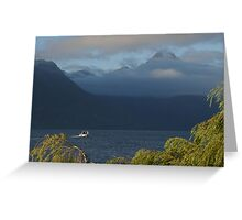 Morning In Queenstown Greeting Card