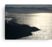 Approach To Wellington Canvas Print