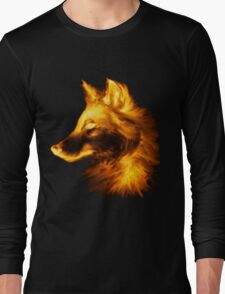 Gold wolf Long Sleeve T-Shirt