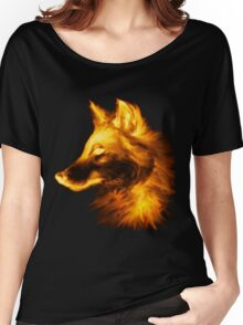 Gold wolf Women's Relaxed Fit T-Shirt