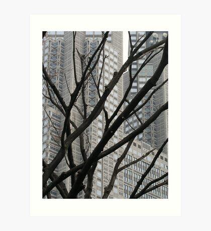 Street Scene - Tokyo Art Print