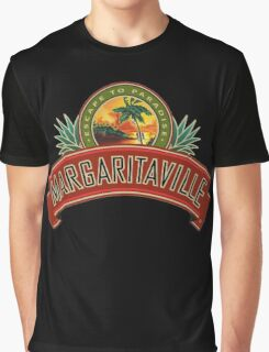 escape to paradise jimmy buffett's margaritavill Graphic T-Shirt