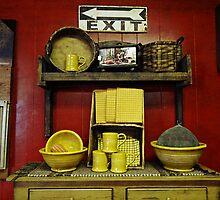 A country kitchen display by vigor