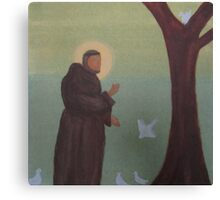 Saint Francis of Assisi Canvas Print