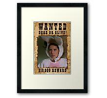 Buffy Anya Emma Caulfield 4 Wanted Framed Print