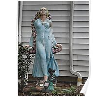 Front yard statue Poster