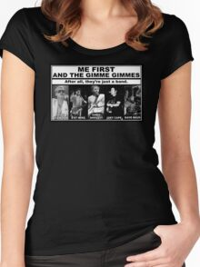 Me First And The Gimme Gimmes - Just A Band Women's Fitted Scoop T-Shirt