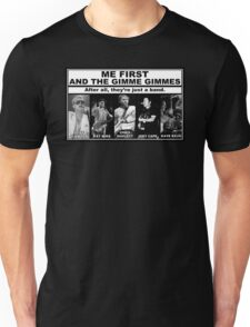 Me First And The Gimme Gimmes - Just A Band Unisex T-Shirt