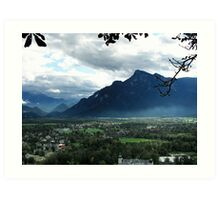 Alps Near Salzburg Art Print