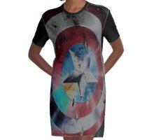 A loyal shield Graphic T-Shirt Dress