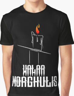 Game of Thrones - Valar Morghulis - Dark Graphic T-Shirt
