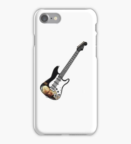 James Marsters Spike Buffy Guitar iPhone Case/Skin