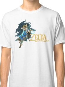 Link - The Legend Of Zelda: Breath of the Wild Classic T-Shirt
