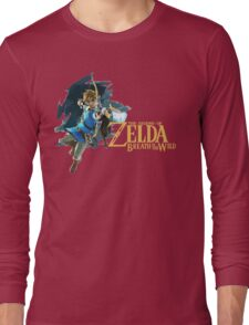 Link - The Legend Of Zelda: Breath of the Wild Long Sleeve T-Shirt