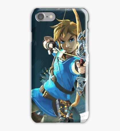 Link - The Legend Of Zelda: Breath of the Wild iPhone Case/Skin