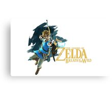 Link - The Legend Of Zelda: Breath of the Wild Canvas Print