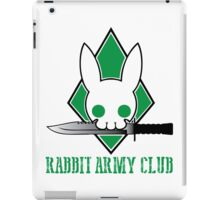Rabbit Army Club iPad Case/Skin