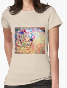 Variegated Yarn Womens Fitted T-Shirt