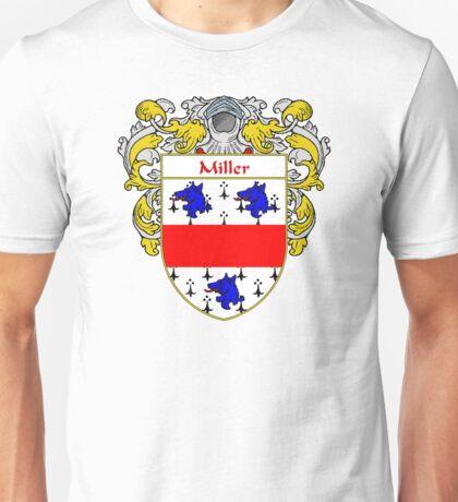 Miller Coat of Arms/Family Crest Unisex T-Shirt