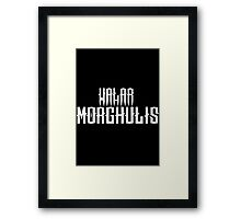 Game of Thrones - Valar - White Framed Print