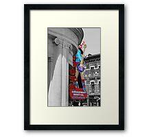 Nashville Boots on Broadway Framed Print