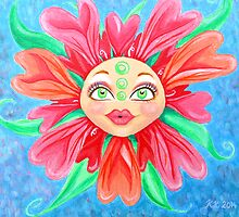 Doll Face Flower by Almonda