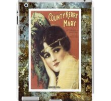 Country Kerry Mary Flapper Vintage Sheet Music iPad Case/Skin
