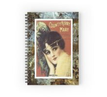 Country Kerry Mary Flapper Vintage Sheet Music Spiral Notebook