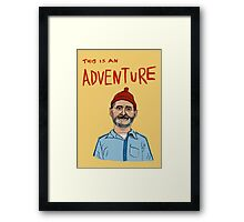 this is an adventure Framed Print