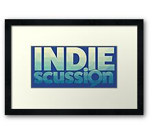 IndieScussion Framed Print