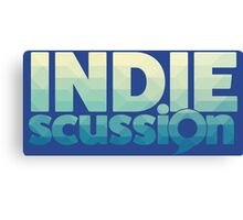 IndieScussion Canvas Print