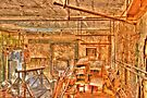 Grungy Skycam Room at Eastern State Penetentiary by Kim McClain Gregal
