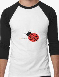 im a ladybug Men's Baseball ¾ T-Shirt