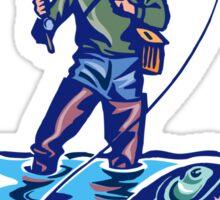 Let's Go Fishing T-Shirt Sticker