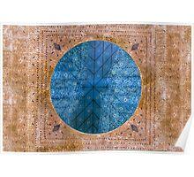 Ancient roman mosaic Poster