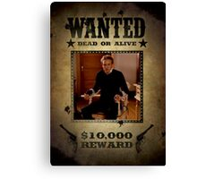 Buffy Andrew Wanted Canvas Print