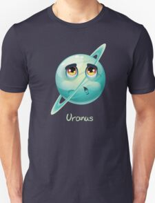 Cartoon Uranus Unisex T-Shirt