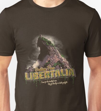 Greetings from Libertalia Unisex T-Shirt