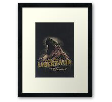 Greetings from Libertalia Framed Print