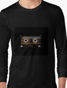 Retro Music Cassette Tape Long Sleeve T-Shirt