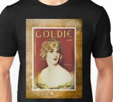 Goldie Song Victorian Woman Vintage Sheet Music Unisex T-Shirt