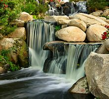Redhawk Waterfall by jswolfphoto