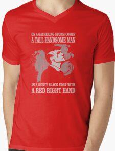 Peaky Blinders Song. Tommy Shelby. V2. Mens V-Neck T-Shirt