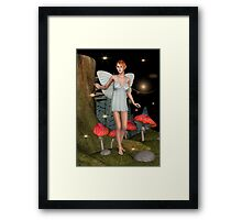 Fairy Butterfly Framed Print