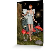 Fairy Butterfly Greeting Card