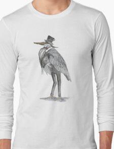 A Very Important Bird Long Sleeve T-Shirt