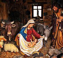Birth of jesus by Atman Victor